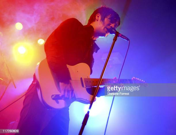 Brendon Urie of Panic At The Disco during Panic At the Disco Concert at Manchester Academy in Manchester Great Britain