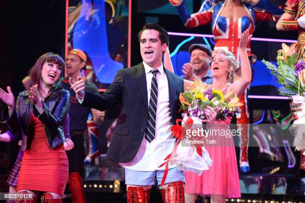 Brendon Urie of Panic At The Disco makes his broadway debut In 'Kinky Boots' at Al Hirschfeld Theatre on June 4 2017 in New York City