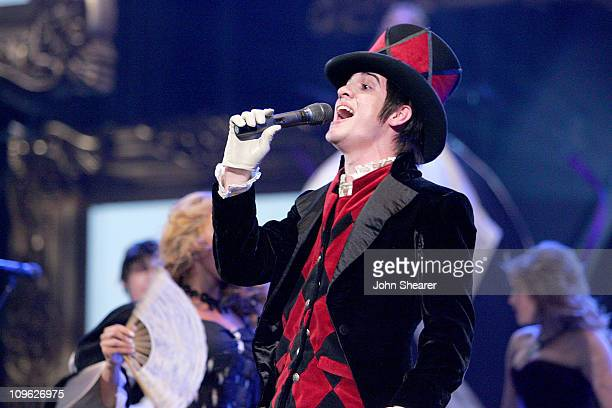Brendon Urie of Panic At the Disco performs 'I Write Sins Not Tragedies'