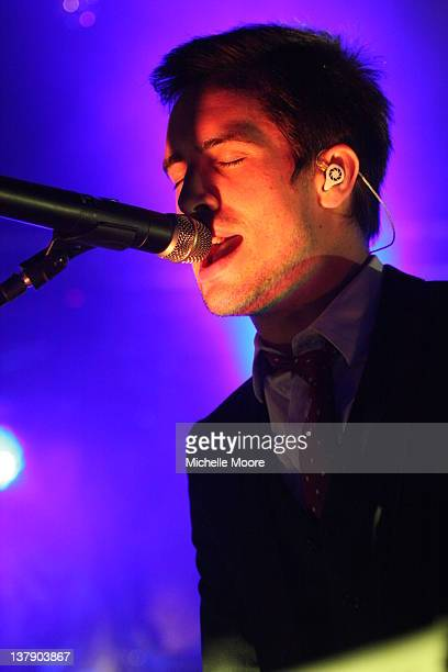 Brendon Urie performs at O2 Academy on January 29 2012 in Birmingham England