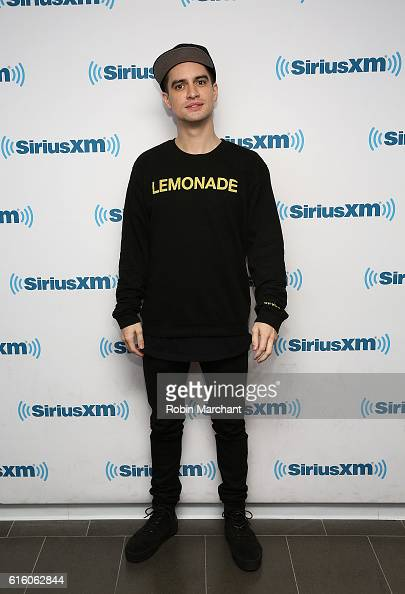 Brendon Urie visits at SiriusXM Studio on October 21 2016 in New York City