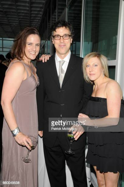 Brenna Britton Robert Trachtenberg and Sara Williams attend INTERNATIONAL CENTER OF PHOTOGRAPHY's 25th Annual INFINITY AWARDS at Pier 60 on May 12...
