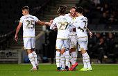 GBR: Milton Keynes Dons v Wycombe Wanderers - Leasing.com Trophy