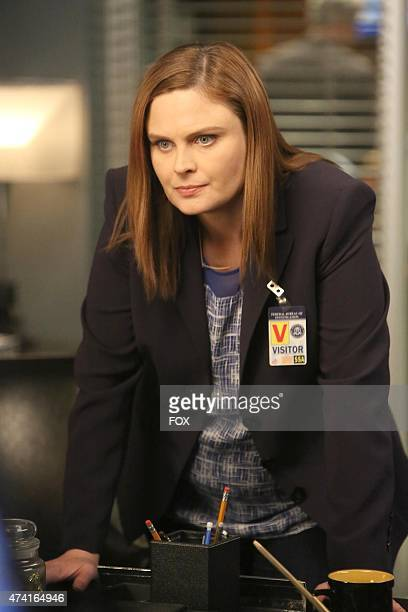 Brennan in the second part of the special twohour 'The Lost in the Found'/'The Verdict in the Victims' episode of BONES airing Thursday May 7 2015 on...