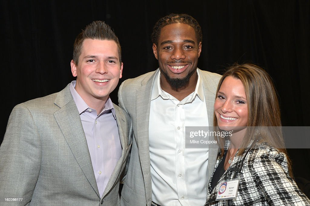 Brennan Poole, William Gay and Wynser Poole attend the A Day To Connect, Inspire And Heal Summit on February 21, 2013 in New York City.