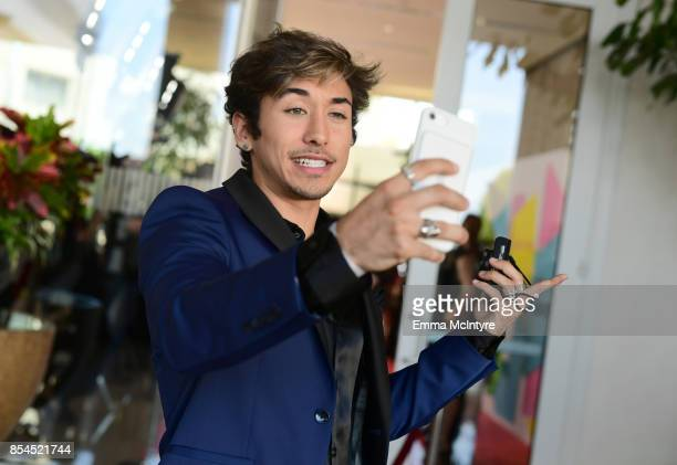 Brennen Taylor at the 2017 Streamy Awards at The Beverly Hilton Hotel on September 26 2017 in Beverly Hills California