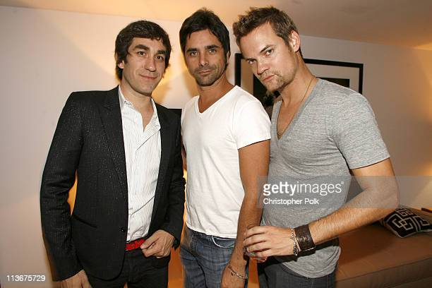 Brent Bolthouse John Stamos and Shane West *EXCLUSIVE*