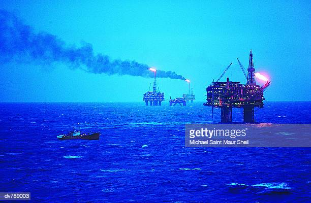 Brent Oil field, North Sea, UK