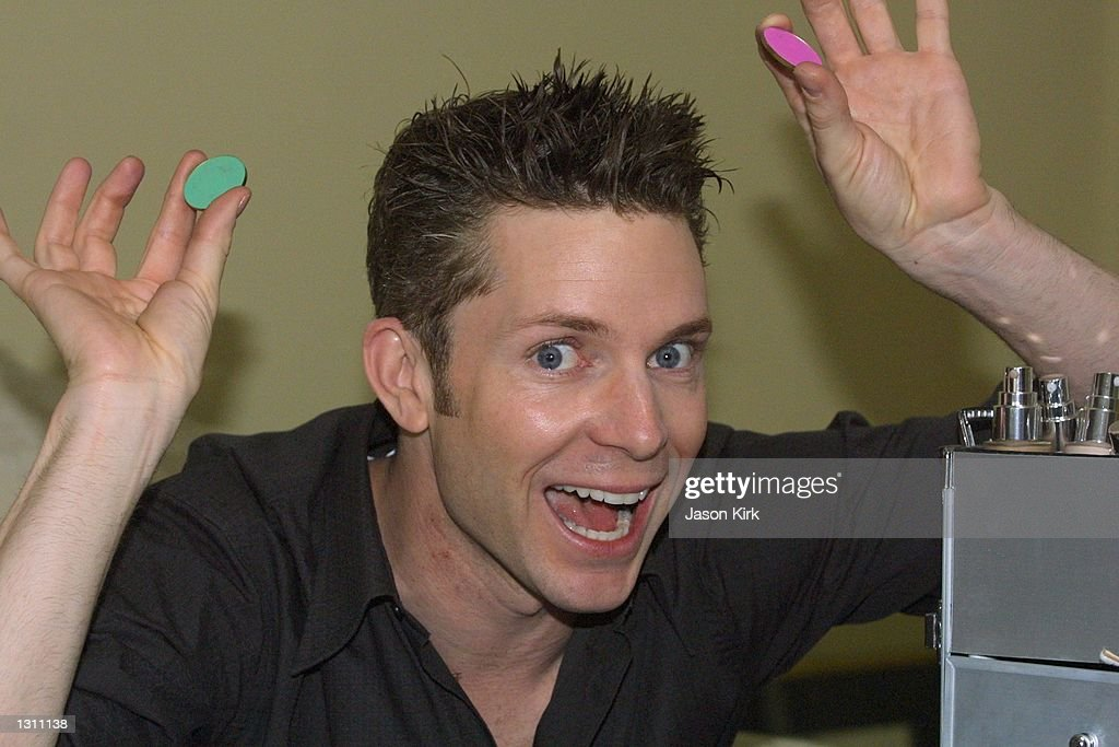<b>Brent Reese</b> in his home May 22, 2001 in West Hollywood, CA. - brent-reese-in-his-home-may-22-2001-in-west-hollywood-ca-picture-id1311138