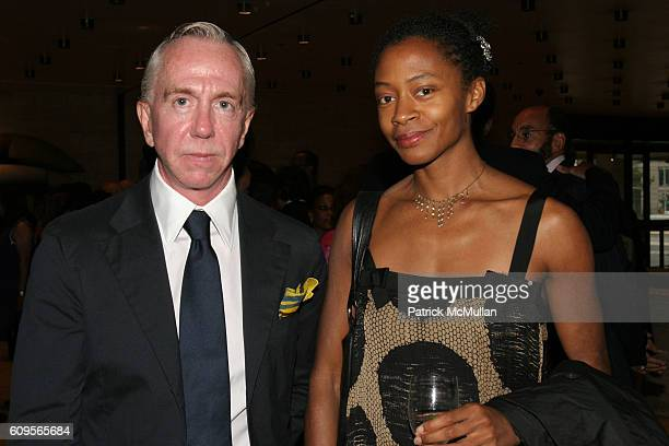 Brent Sikkema and Kara Walker attend New York City Opera opens its Fall Season with the New York Premiere of Margaret Garner at New York State...