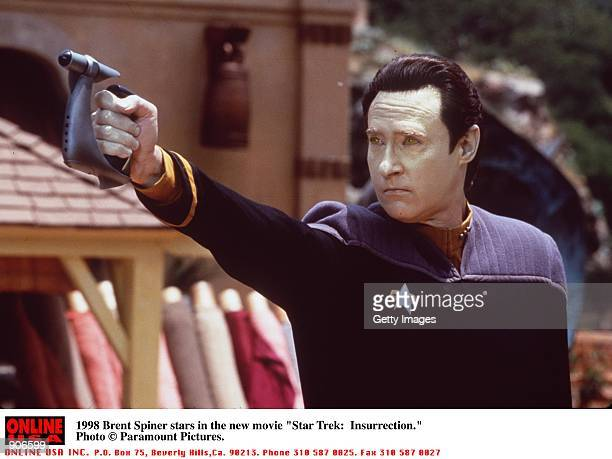 Brent Spiner stars in the new movie 'Star Trek Insurrection'