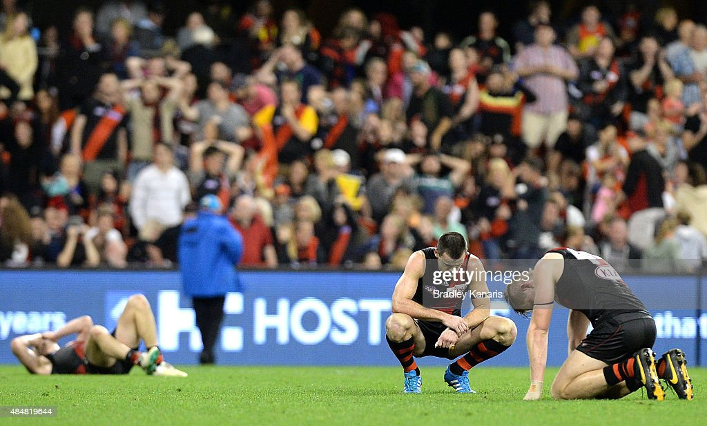 AFL Rd 21 - Gold Coast Suns v Essendon