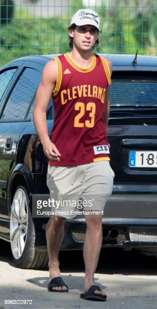 Brentford football player Jota Peleteiro is seen on June 15 2017 in Marbella Spain