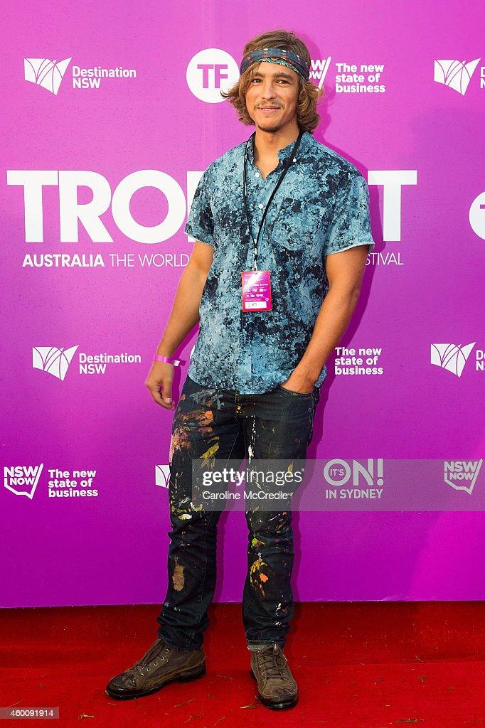 Brenton Thwaites at Tropfest 2014 on December 7 2014 in Sydney Australia
