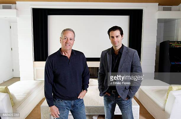 Brentwood CA 032011 David Hoberman and Todd Lieberman producers of The Muppets movie Photo by J Emilio Flores/CORBIS