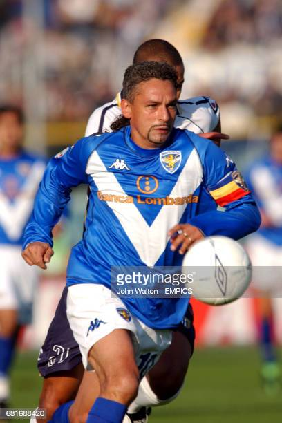 Brescia's Roberto Baggio