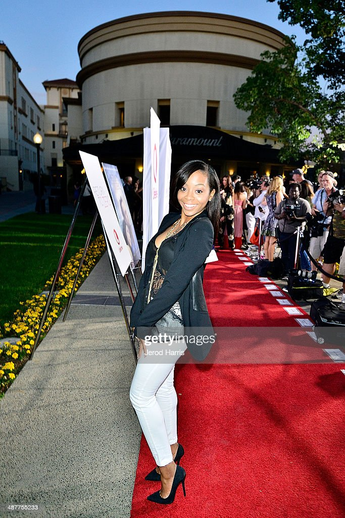 <a gi-track='captionPersonalityLinkClicked' href=/galleries/search?phrase=Bresha+Webb&family=editorial&specificpeople=5460613 ng-click='$event.stopPropagation()'>Bresha Webb</a> arrives at the Premiere of Lifetime Television's 'Return To Zero' at Paramount Theater on the Paramount Studios lot on May 1, 2014 in Hollywood, California.