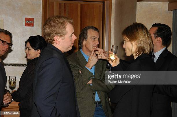 Bret Easton Ellis and Kirsten Stoldt Wittenborn attend Jay McInerney celebrates 'The Good Life' at Eleven Madison Park NYC on May 10 2006 in New York...