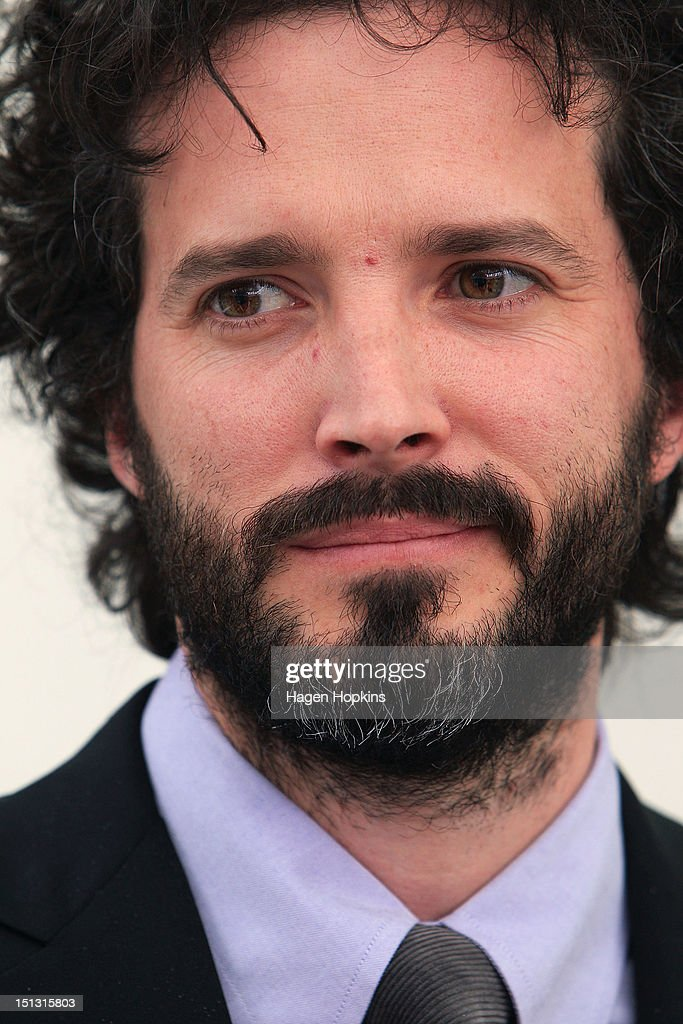 <a gi-track='captionPersonalityLinkClicked' href=/galleries/search?phrase=Bret+McKenzie&family=editorial&specificpeople=4329701 ng-click='$event.stopPropagation()'>Bret McKenzie</a> speaks to media after receiving the Insignia of the Queen's Service Order during the Governor General's bienniel Investiture Ceremonies held for recipients of the New Year and Queen's Birthday honours at Government House on September 6, 2012 in Wellington, New Zealand.