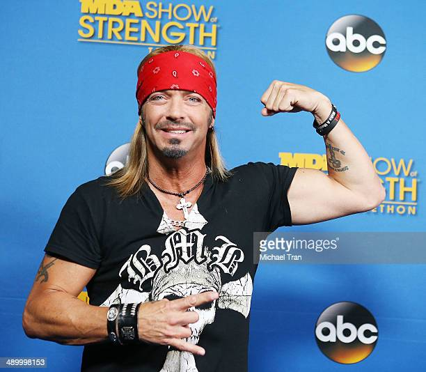 Bret Michaels attends the 2014 MDA Show of Strength Telethon day 1 held at the Hollywood Palladium on May 12 2014 in Hollywood California