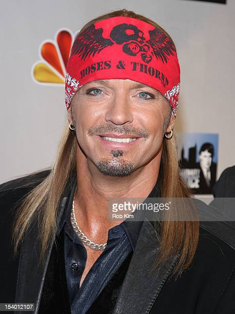 Bret Michaels attends the 'Celebrity Apprentice All Stars' Season 13 Press Conference at Jack Studios on October 12 2012 in New York City