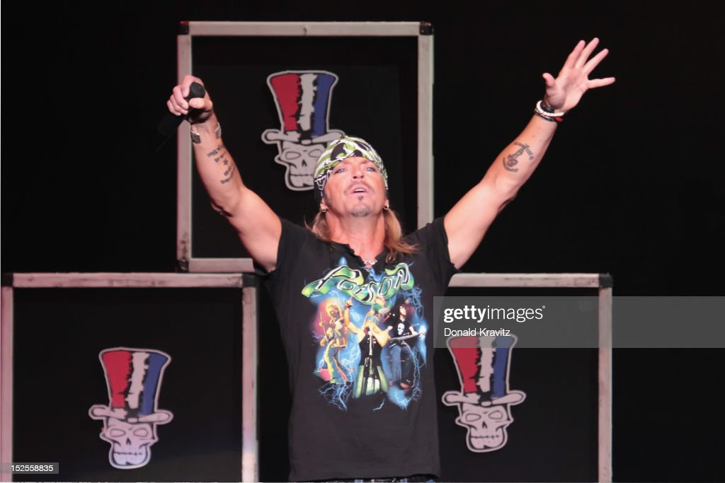 Bret Michaels performs at the Tropicana Showroom on September 21, 2012 in Atlantic City, New Jersey.