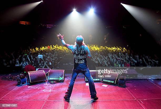 Bret Michaels performs in concert at the Cedar Park Center on April 24 2016 in Cedar Park Texas