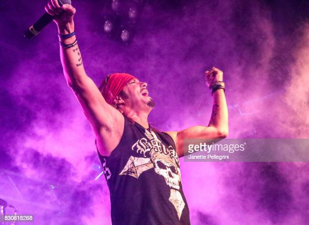 Bret Michaels performs in concert on August 11 2017 at Mulcahy's Pub and Concert Hall in Wantagh New York