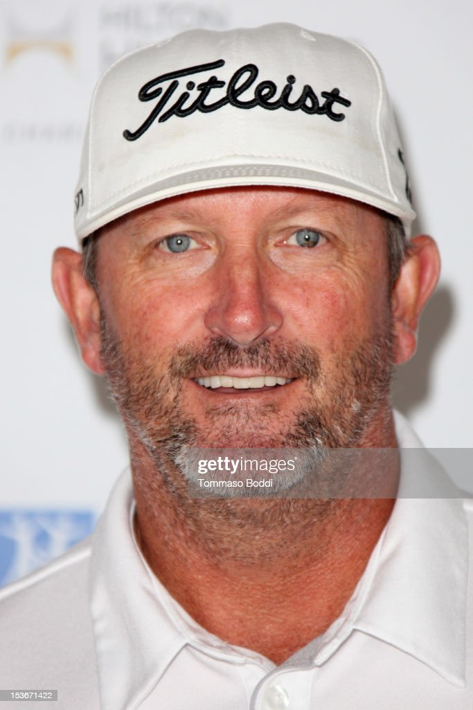 <a gi-track='captionPersonalityLinkClicked' href=/galleries/search?phrase=Bret+Saberhagen&family=editorial&specificpeople=224812 ng-click='$event.stopPropagation()'>Bret Saberhagen</a> attends the 6th Annual Hilton HHonors Charitable Golf Series held at The Riviera Country Club on October 8, 2012 in Pacific Palisades, California.