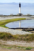 Bretagne Ile de Sein Leuchtturm Phare de Goulenez