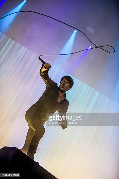 Brett Anderson of the Suede performs at I Days Festival on July 10 2016 in Monza Italy