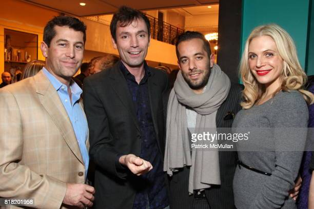 Brett Barasch Tom Sykes Christian Langbein and Anabel Tollman attend Anthropologie Hosts US Book Launch of BLOW BY BLOW at Anthropologie at...