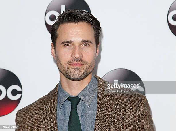Brett Dalton attends the Disney/ABC 2016 Winter TCA Tour at Langham Hotel on January 9 2016 in Pasadena California