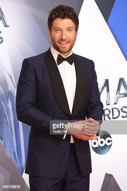 Brett Eldredge attends the 49th annual CMA Awards at the Bridgestone Arena on November 4 2015 in Nashville Tennessee