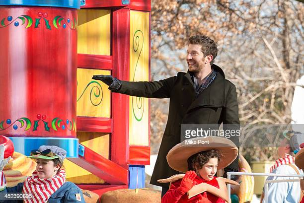Brett Eldredge attends the 87th annual Macy's Thanksgiving Day parade on November 28 2013 in New York City