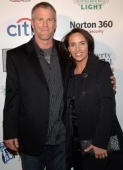 Brett Farve and Deana Farve arrives at The Sports Illustrated Sportsman Of The Year Awards at Skylight Studios in New York December 42007