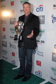 Brett Favre the 2007 Sportsman of the Year attends the Sports Illustrated Sportsman Of The Year event at the Skylight Studios on December 4 2007 in...