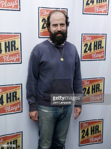 Brett Gelman attends 24 hour plays on Broadway honoring Marsha Norman at American Airlines Theatre on October 30 2017 in New York City