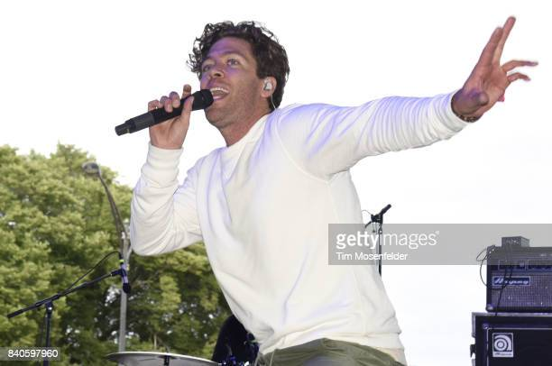 Brett Hite of Frenship performs during Lollapalooza 2017 at Grant Park on August 4 2017 in Chicago Illinois
