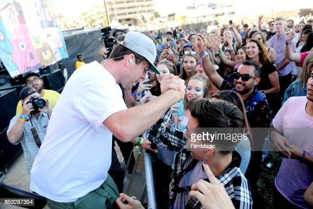 Brett Hite of Frenship performs on Huntridge Stage during day 3 of the 2017 Life Is Beautiful Festival on September 24 2017 in Las Vegas Nevada