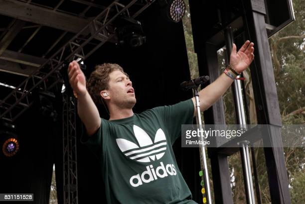 Brett Hite of Frenship performs on the Panhandle Stage during the 2017 Outside Lands Music And Arts Festival at Golden Gate Park on August 13 2017 in...