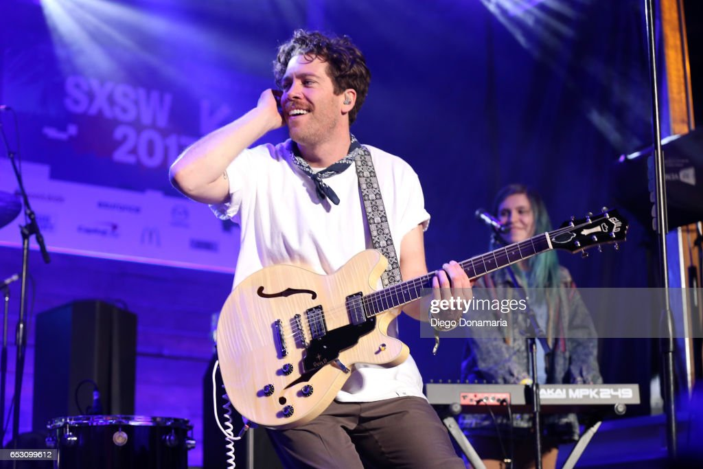 Brett Hite of Frenship performs onstage at the Pandora Party during 2017 SXSW Conference and Festivals at The Gatsby on March 13, 2017 in Austin, Texas.