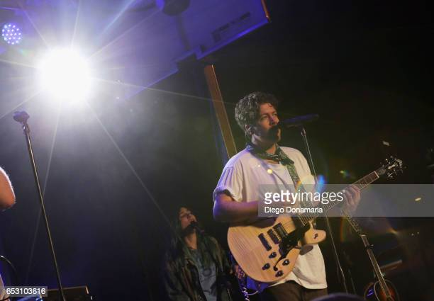 Brett Hite of Frenship performs onstage at the Pandora Party during 2017 SXSW Conference and Festivals at The Gatsby on March 13 2017 in Austin Texas