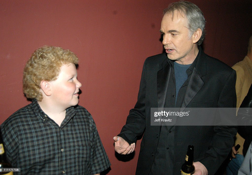 Brett Kelly and Billy Bob Thornton during 'Bad Santa' - Los Angeles Premiere and After-Party at Bruin Theater in Westwood, California, United States.