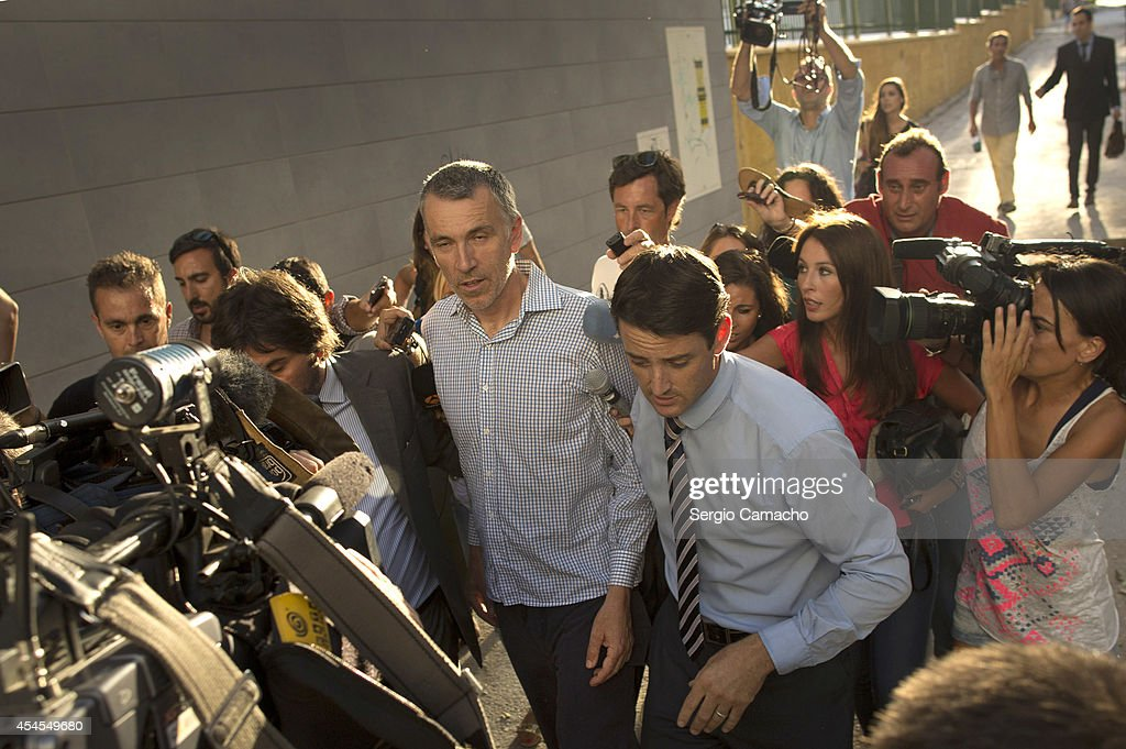Brett King, father of five year old Ashya King, leaves the Materno Infantil Hospital on September 3, 2014 in Malaga, Spain. Brett and Naghmeh King were released from a Madrid prision late on September 2nd, after British authorities dropped an extradition request. Ashya King, who has a brain tumour, had been taken by his parents from a UK hospital against medical advice.
