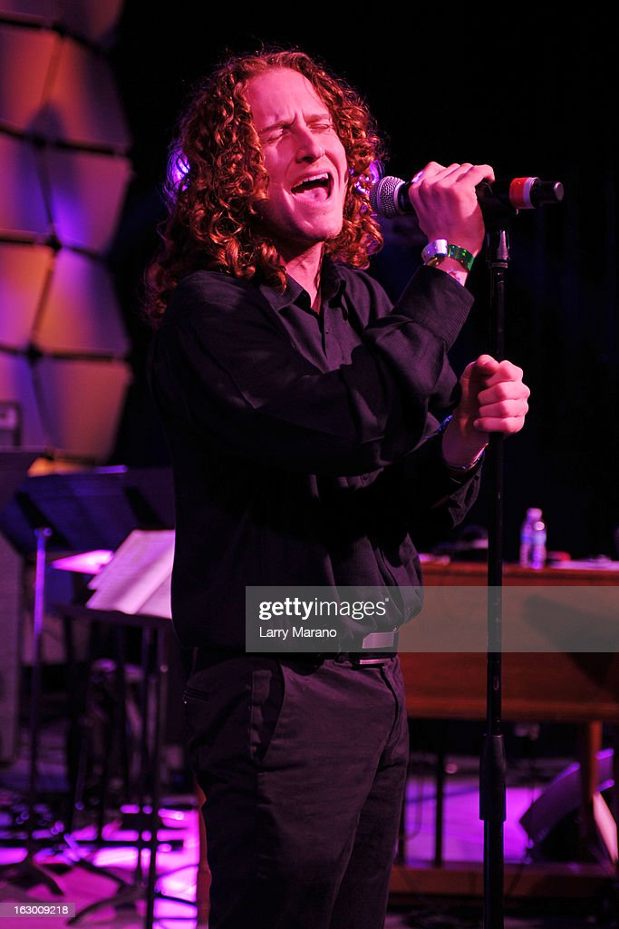 Brett Lowenstein performs at The Classic Rock And Roll Party to benefit HomeSafe at Seminole Hard Rock Hotel on March 2, 2013 in Hollywood, Florida.