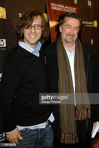 Brett Morgen and Geoff Gilmore during 2007 Sundance Film Festival 'Chicago 10' Opening Night Premiere at Eccles Theatre in Utah United States