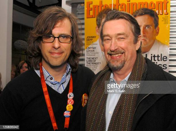 Brett Morgen and Geoff Gilmore during 2007 Sundance Film Festival Cocktails and Caravans at Kimball Art Center in Park City Utah United States