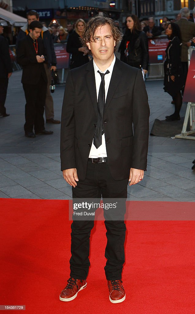 Brett Morgen attends the Premiere of 'Crossfire Hurricane' during the 56th BFI London Film Festival at Odeon Leicester Square on October 18, 2012 in London, England.