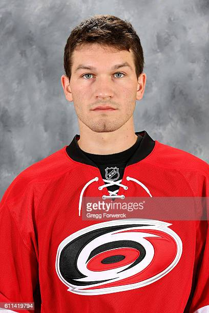 Brett Pesce of the Carolina Hurricanes poses for his official headshot for the 20162017 season on September 22 2016 at Carolina Family Practice and...